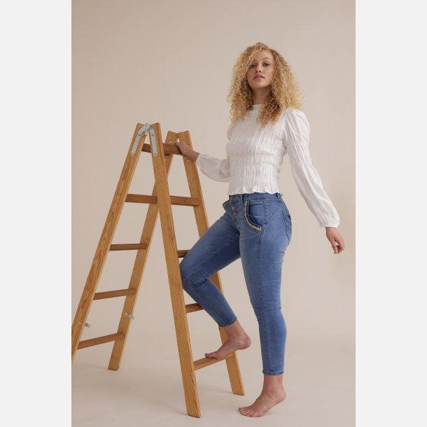 Cream Baiily Jeans