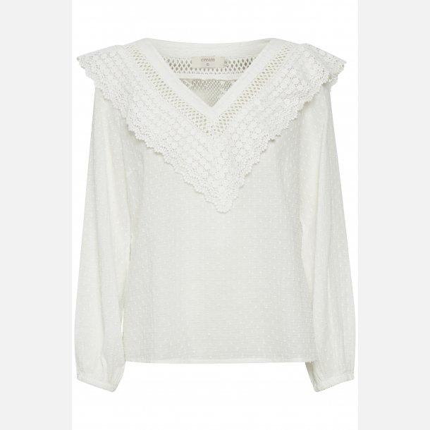 Cream Bluse